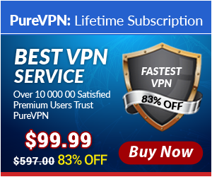 PureVPN Lifetime for $99