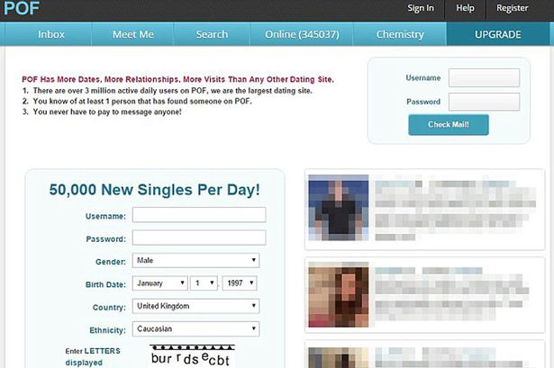 Browsing anonymously pof dating