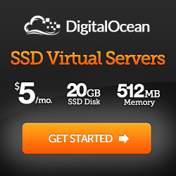 Hosted by Digital Ocean