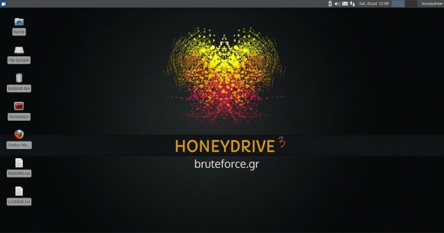 HoneyDrive 3 Released - New Honeypot Download Distro ISO