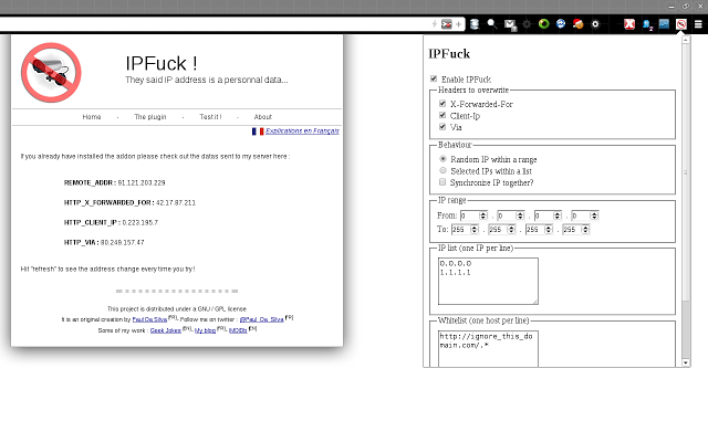 IPFlood (was IPFuck) – Firefox Add-on To Hide Your IP ...