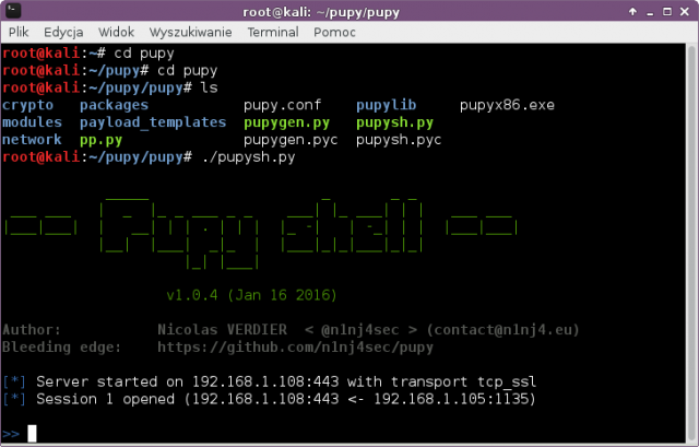 Pupy Download - Open-Source Remote Administration Tool - RAT