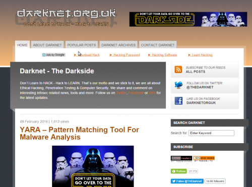 Darknet Site - 2010