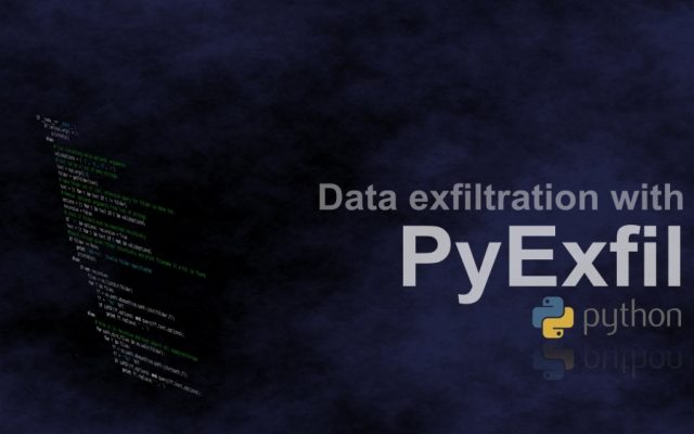 PyExfil - Python Data Exfiltration Tools