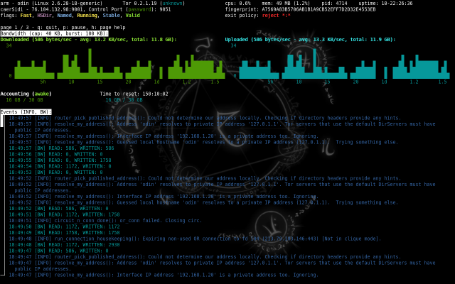 Exitmap - Tor Exit Relay Scanner