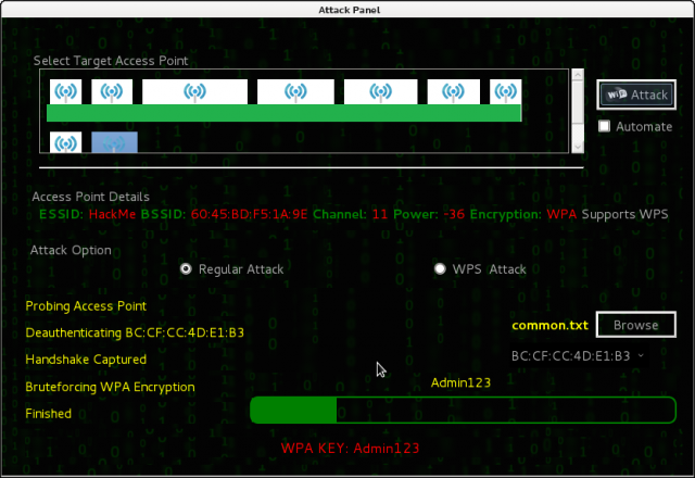 Fern Wifi Cracker - Wireless Security Auditing Tool