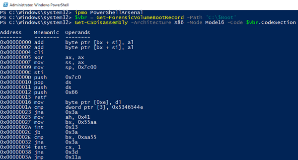 PowerShellArsenal - PowerShell For Reverse Engineering