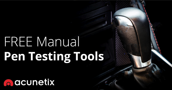 Free Manual Pen Testing Tools