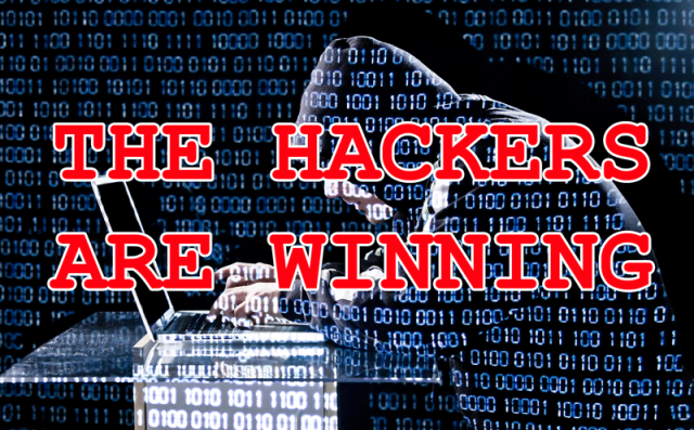 Why Are Hackers Winning The Security Game?