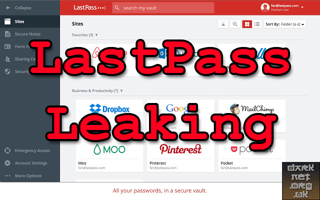 LastPass Hacked - Leaking Passwords Via Chrome Extension