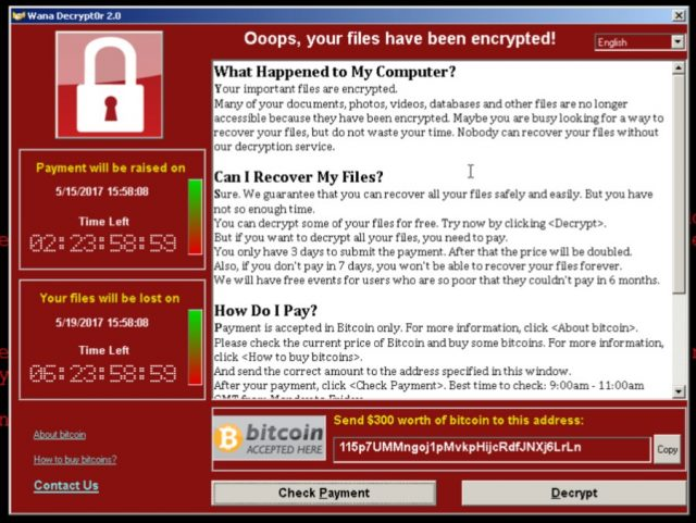 WannaCry Ransomware Foiled By Domain Killswitch