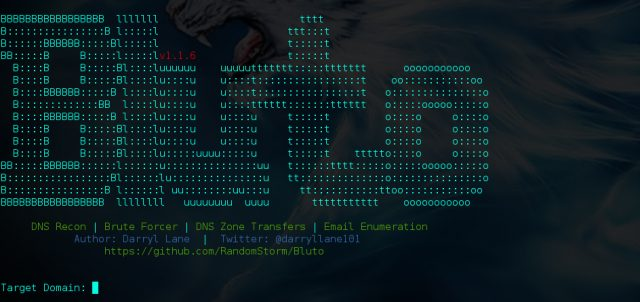 Bluto - DNS Recon, Zone Transfer & Brute Forcer