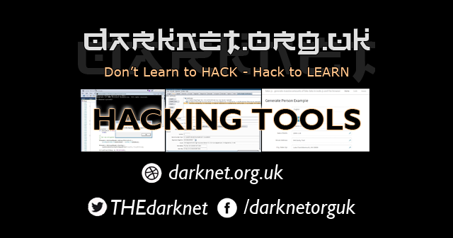 Hacking Tools - Darknet