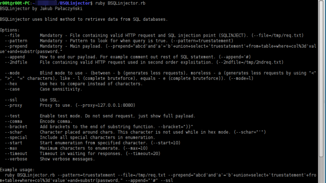 BSQLinjector - Blind SQL Injection Tool Download