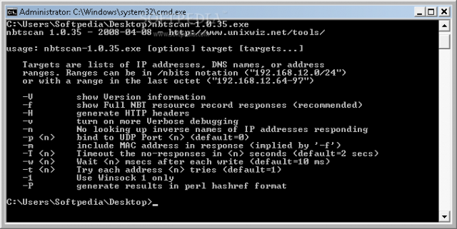 nbtscan Download - NetBIOS Scanner For Windows & Linux