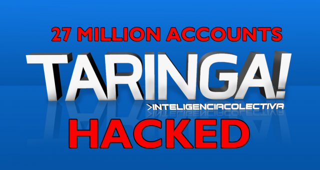 Taringa Hack – 27 Million User Records Leaked