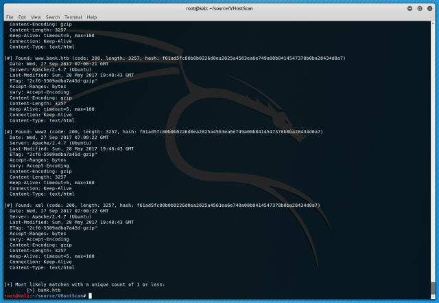VHostScan – Virtual Host Scanner With Alias & Catch-All Detection