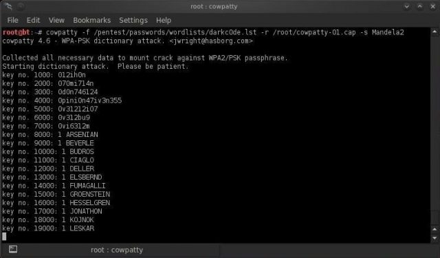 coWPAtty Download – Audit Pre-shared WPA Keys - Darknet