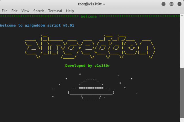 airgeddon – Wireless Security Auditing Script