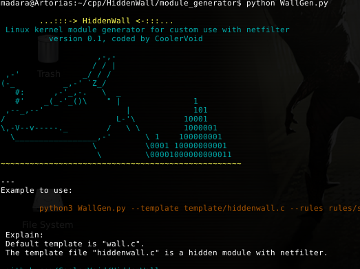 HiddenWall – Create Hidden Kernel Modules
