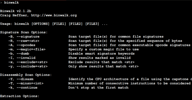 Binwalk – Firmware Security Analysis & Extraction Tool